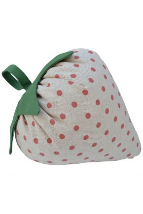 Декоративная подушка игрушка Клубника