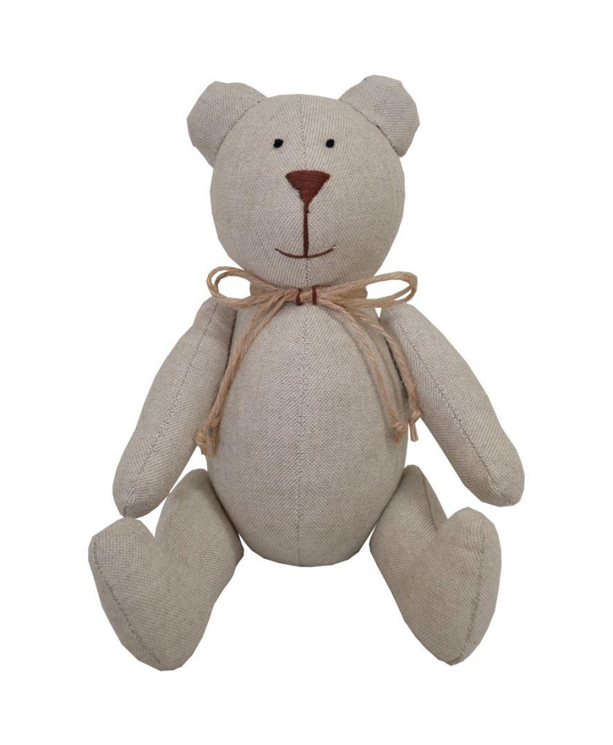 Интерьерная игрушка мишка Тедди Беж