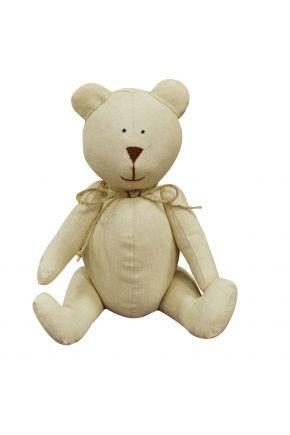 Интерьерная игрушка мишка Тедди Песок