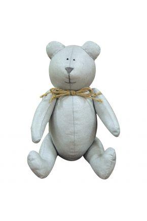 Интерьерная игрушка мишка Тедди SILVER