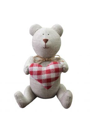 Интерьерная игрушка мишка Тедди TAUPE
