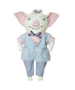 Интерьерная игрушка папа свин