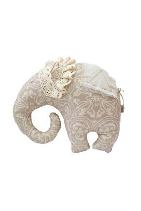 Декоративная подушка слон Фреска
