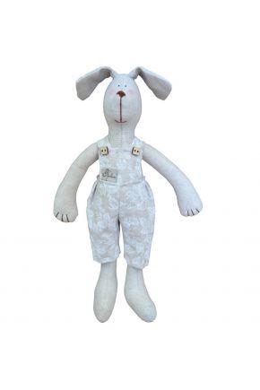Интерьерная игрушка собака мальчик в штанах white rose