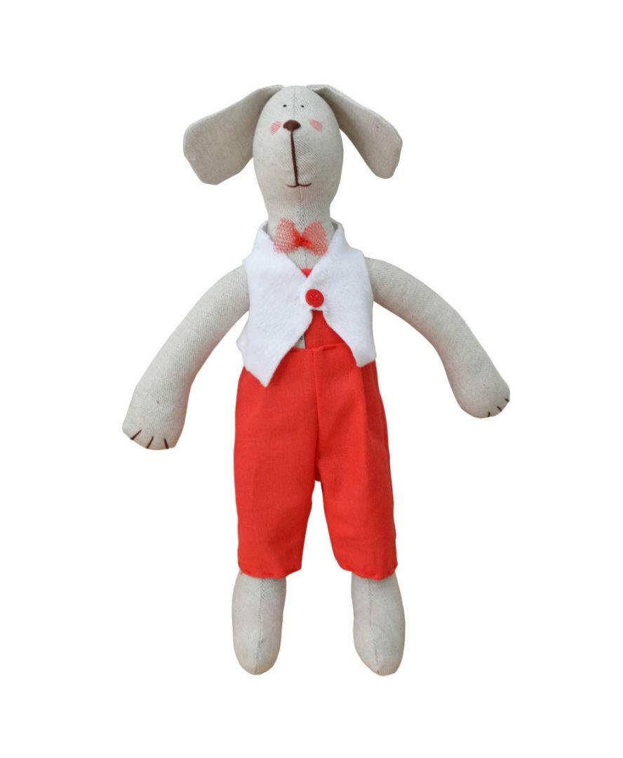 Интерьерная игрушка Собака Джентльмен