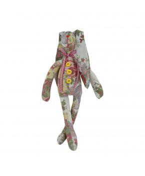 Интерьерная игрушка зайка стиляга Gobelin