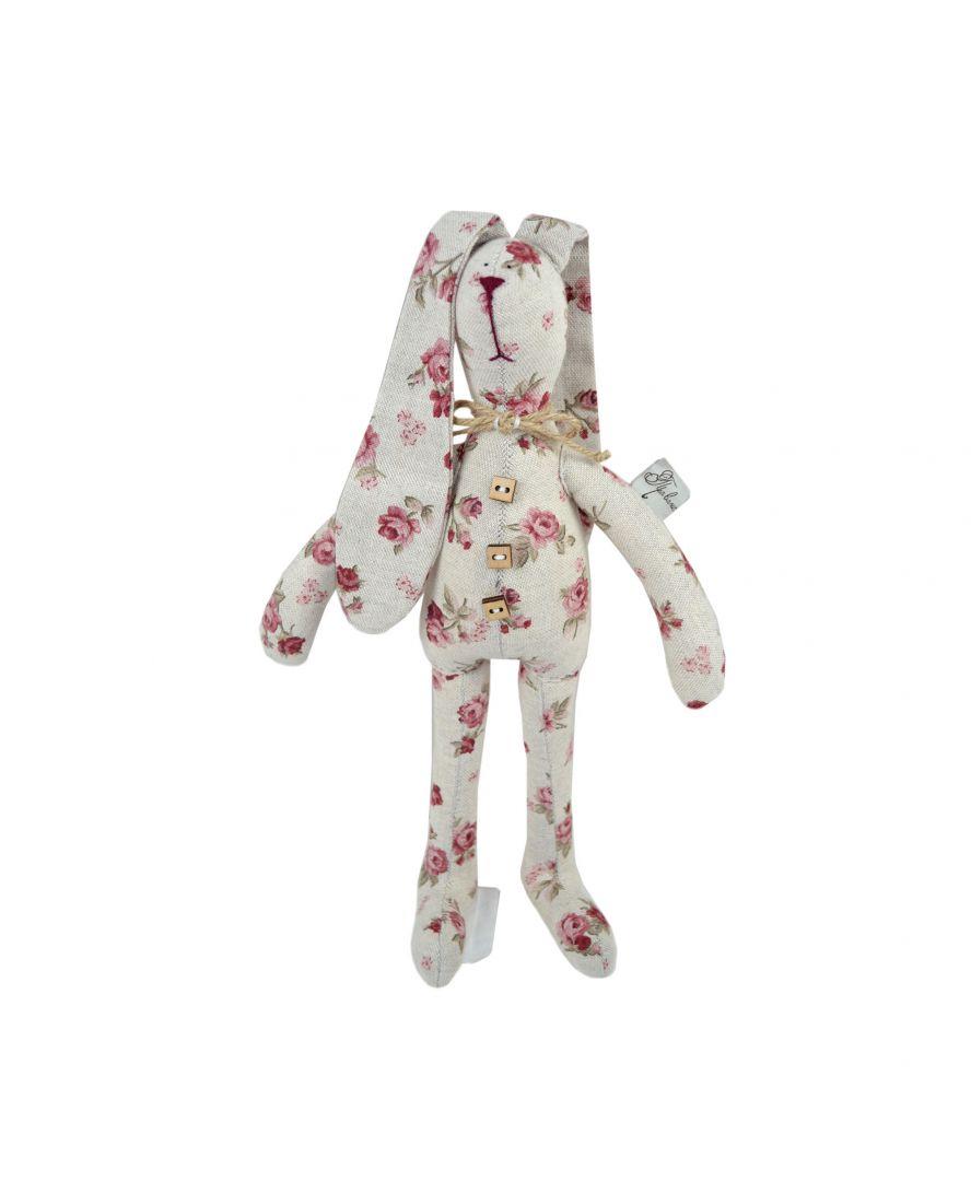 Интерьерная игрушка зайка стиляга Red Rose