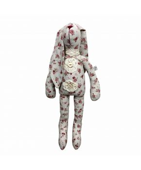 Интерьерная игрушка зайка стиляга Red Rose большая