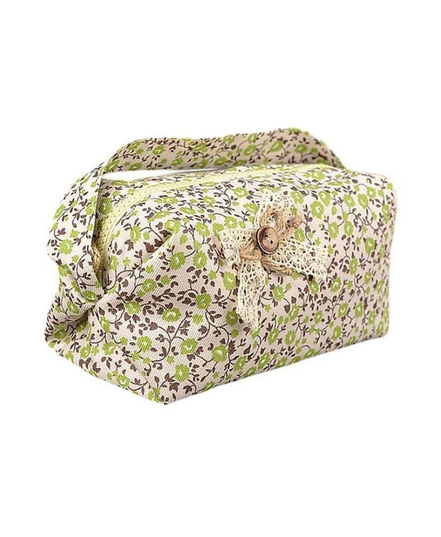 Косметичка ручной работы цветы олива