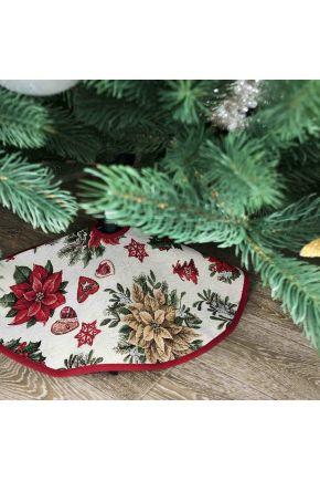 Коврик под елку D-70 Рождество