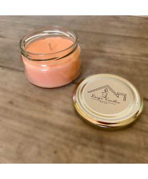 Свеча в банке Lucy's Candles персик