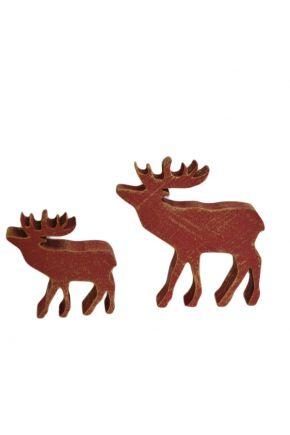 Деревянная игрушка Олень красный ТМ Прованс