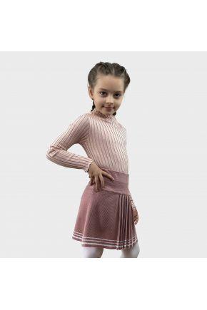 Водолазка для девочки Kelly розовая