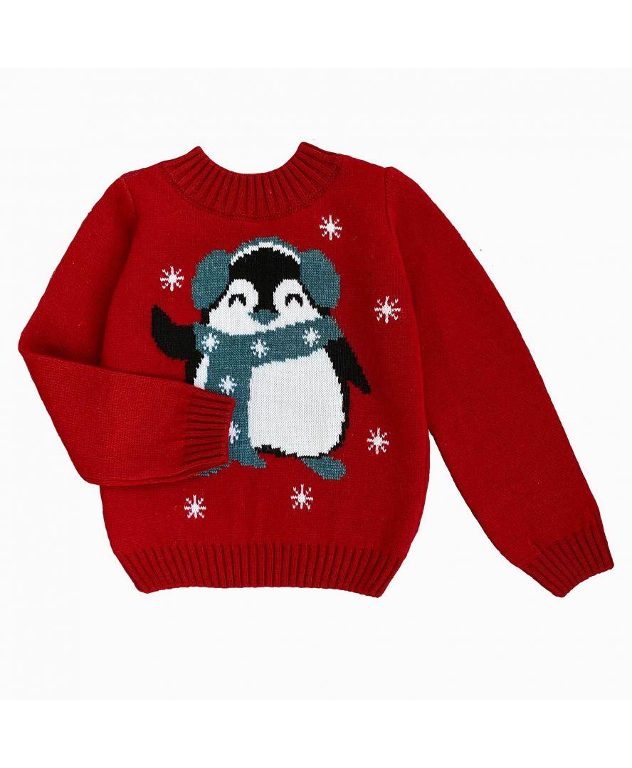 Джемпер детский Пингвин