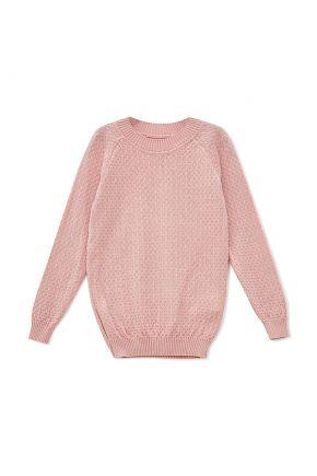 Джемпер для девочки Весна розовый
