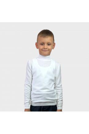 Джемпер для мальчика Dreamer молочный
