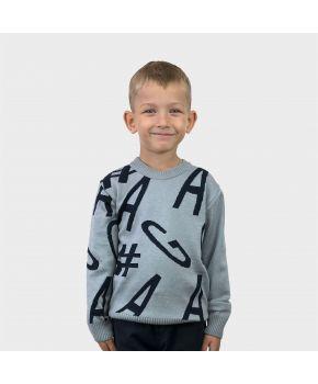 Джемпер для мальчика GA Серый