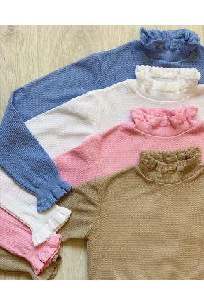 Джемпер для девочки Romance голубой