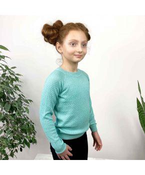 Джемпер для девочки Весна тиффани