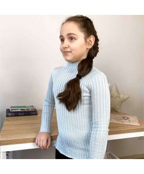 Водолазка для девочки Kelly светло-серый