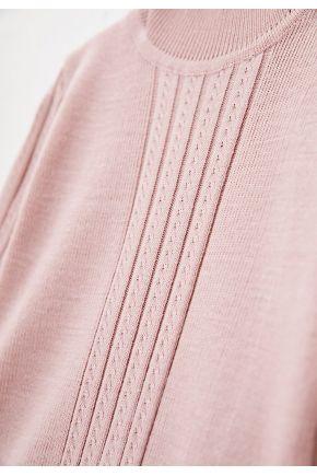 Водолазка для девочки Pretty розовая пудра
