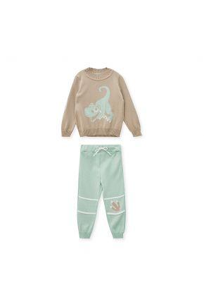 Детский костюм с динозавром DINO