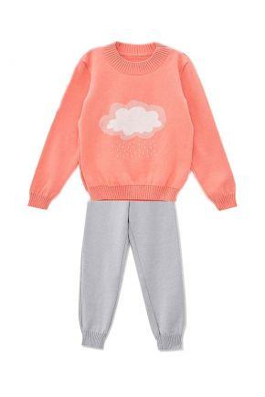 Детский костюм Тучка персиковый