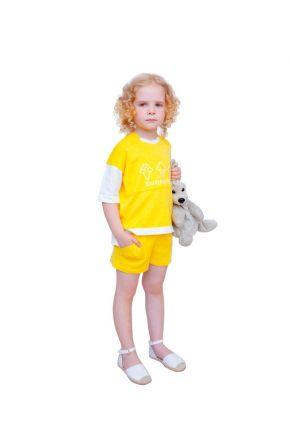 Детский костюм Sunny Day желтый