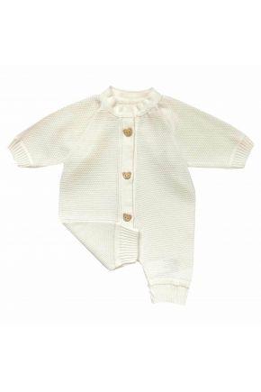 Комбинезон (человечек) для младенцев Молочный