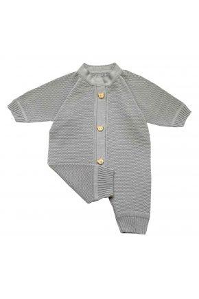 Комбинезон (человечек) для младенцев Серый