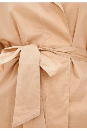 Женский халат хлопковый золото