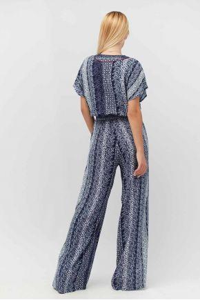 Комбинезон женский с широкими брюками