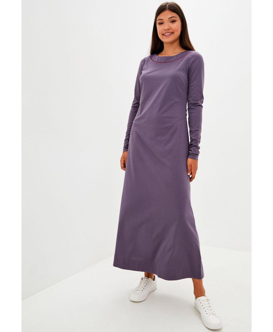 Платье трикотажное Лакоста баклажан