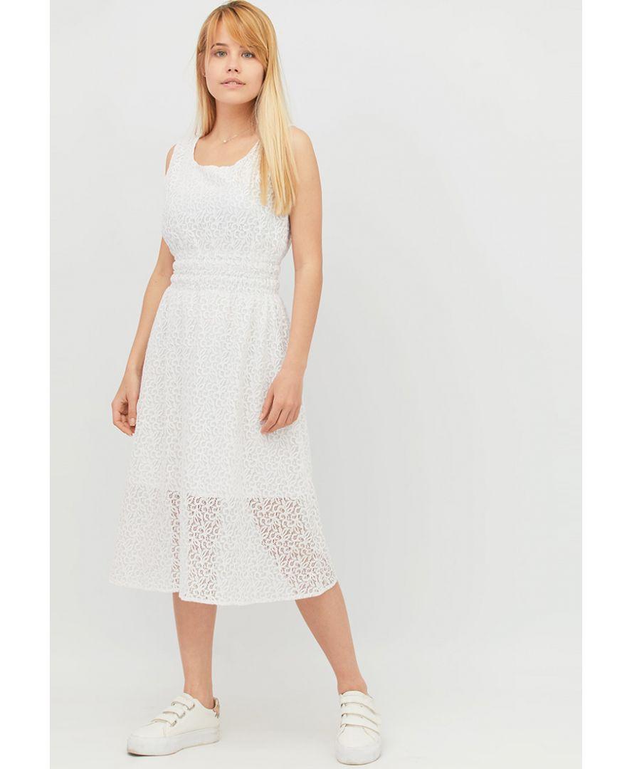 b3586d5d6b0 ≡ Платье летнее женское Белое кружево купить в Украине  Киев