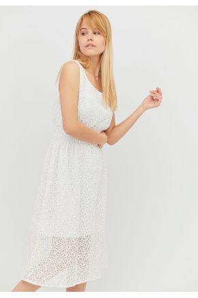 Платье летнее женское Белое кружево