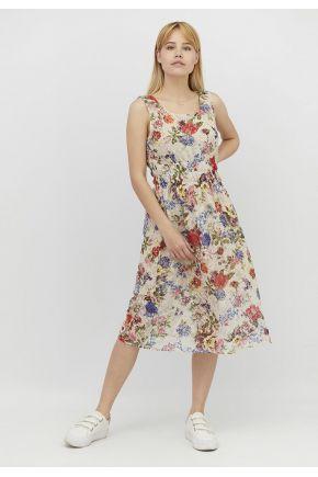 Летнее платье женское Цветочное кружево