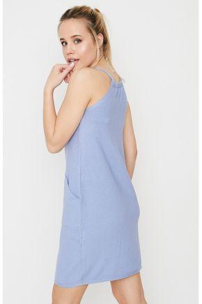 Сарафан Aimec голубой и кардиган Light-Style белый