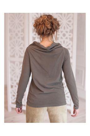 Дизайнерский пуловер женский