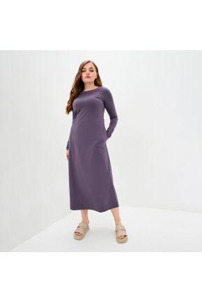 Платье трикотажное Рома сиреневый