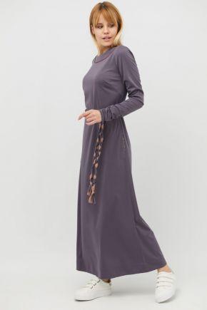 Платье трикотажное Рома (сиреневый)