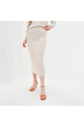 Вязаная юбка Katrin Беж