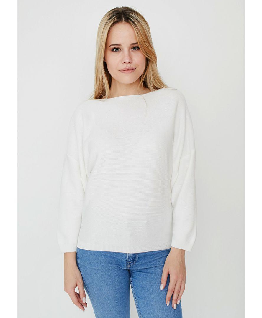 Джемпер Soft-Look белый