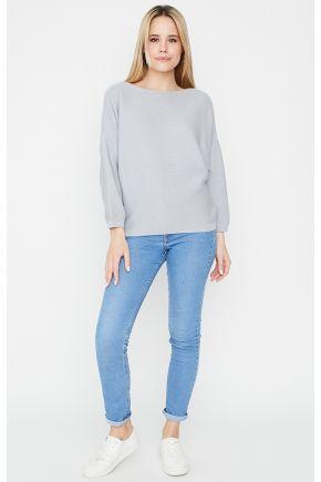 Джемпер Soft-Look серый