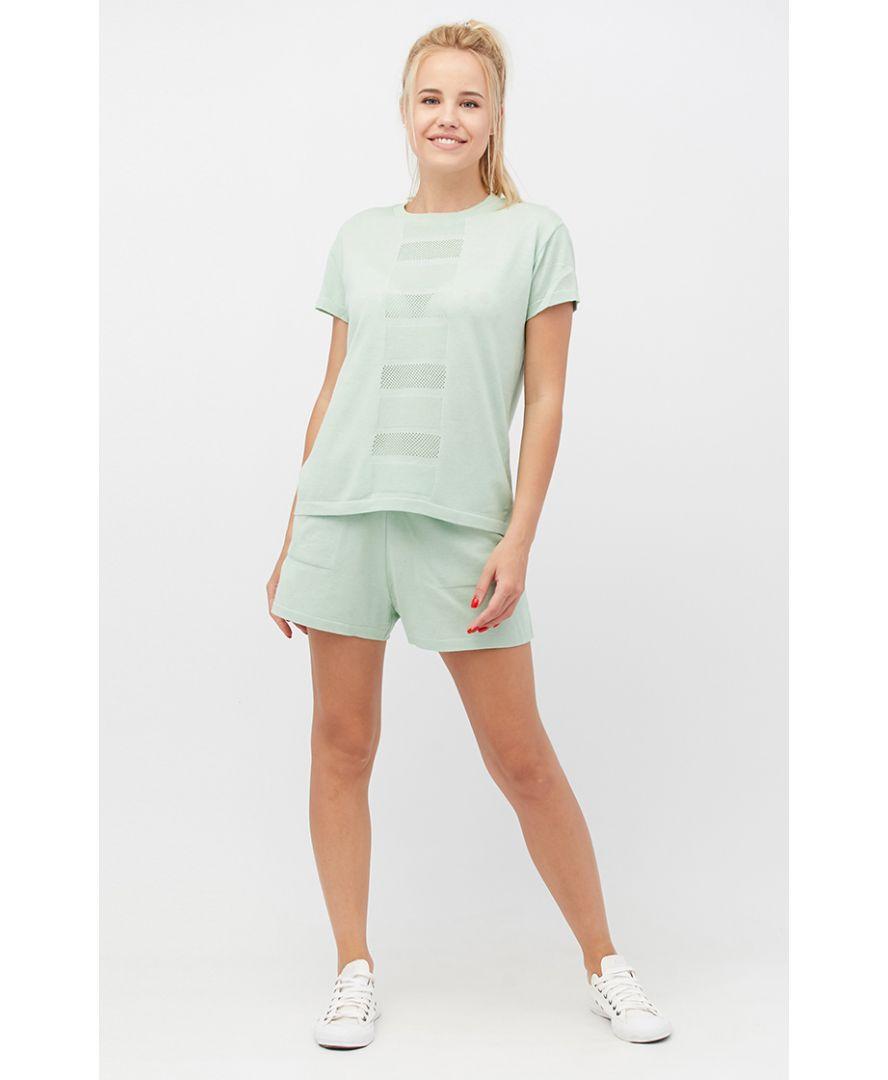 Костюм футболка и шорты Set-breeze мятный