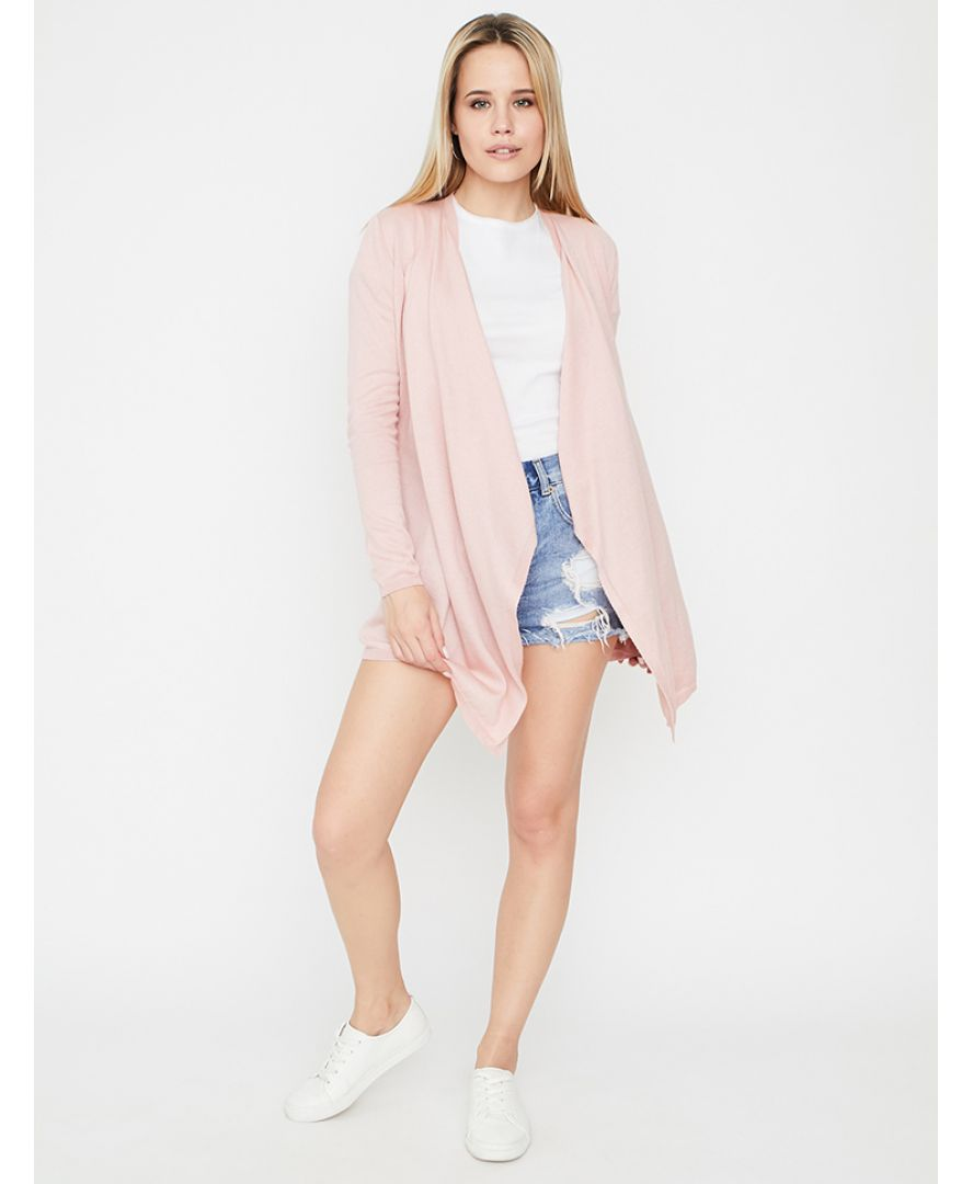 Кардиган женский Light-Style розовый