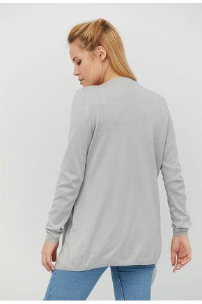 Кардиган женский Light-Style серый меланж