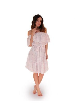 Сарафан короткий розовые полоски ТМ Прованс