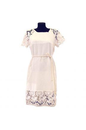 Короткое летнее платье Мимоза