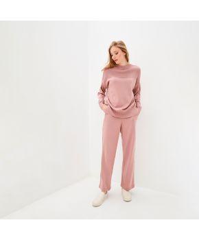 Костюм вязаный Katrin Темно-розовый
