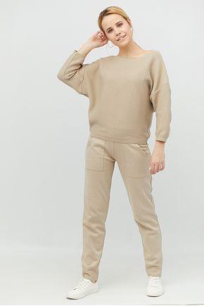Вязаный костюм Soft-Look бежевый